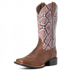 STIVALI WESTERN DONNA ARIAT ROUND UP WIDE SQUARE TOE