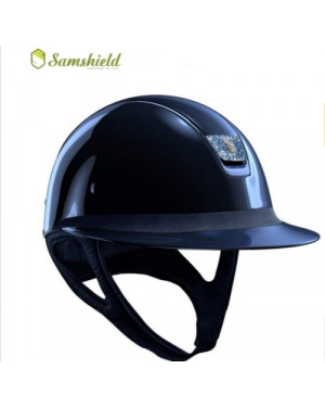 CAP SAMSHIELD MOD. SHADOW MISS SHIELD GLOSSY METALLIC BLUE