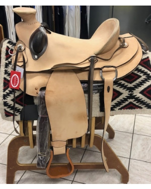 SELLA WESTERN DENVER MOD. WADE ROUGH OUT MIS. 17