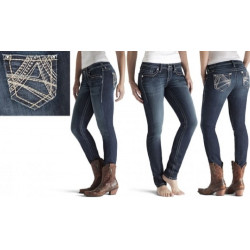 JEANS DONNA ARIAT MOD. SKINNY PEACOCK