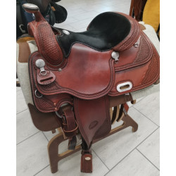 SELLA WESTERN USATA  BILLY COOK 5005 REINER MIS. 16