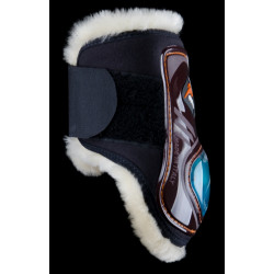 PARANOCCHE EQUICK eSHOCK FLUFFY VELCRO
