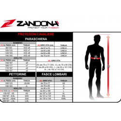 PARASCHIENA ZANDONA ARMOUR PRO KID X8
