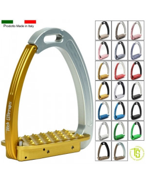 STAFFE SICUREZZA TECH STIRRUPS VENICE PEDANE MM 120 X 65