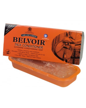 BELVOIR TACK CONDITIONER TRAY SAPONE IN STECCA 250 G.