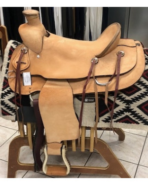 SELLA WESTERN DENVER MOD. WADE ROUGH OUT MIS. 16