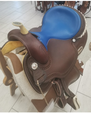 SELLA WESTERN BARREL POOL'S MODELLO 5020 MIS. 16 Q