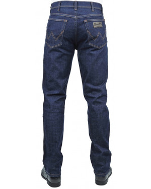 "JEANS WRANGLER MODELLO ""TEXAS STRETCH"" DARK BLU"